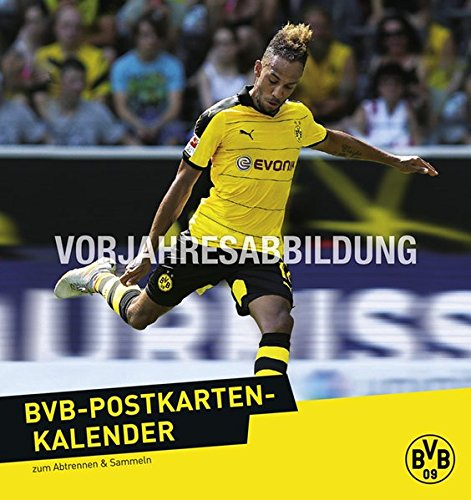 Borussia Dortmund Postkartenkalender - Kalender 2017