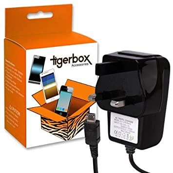 FIRE HD TABLET UK MAINS MICRO USB WALL PLUG CHARGER FOR AMAZON KINDLE FIRE