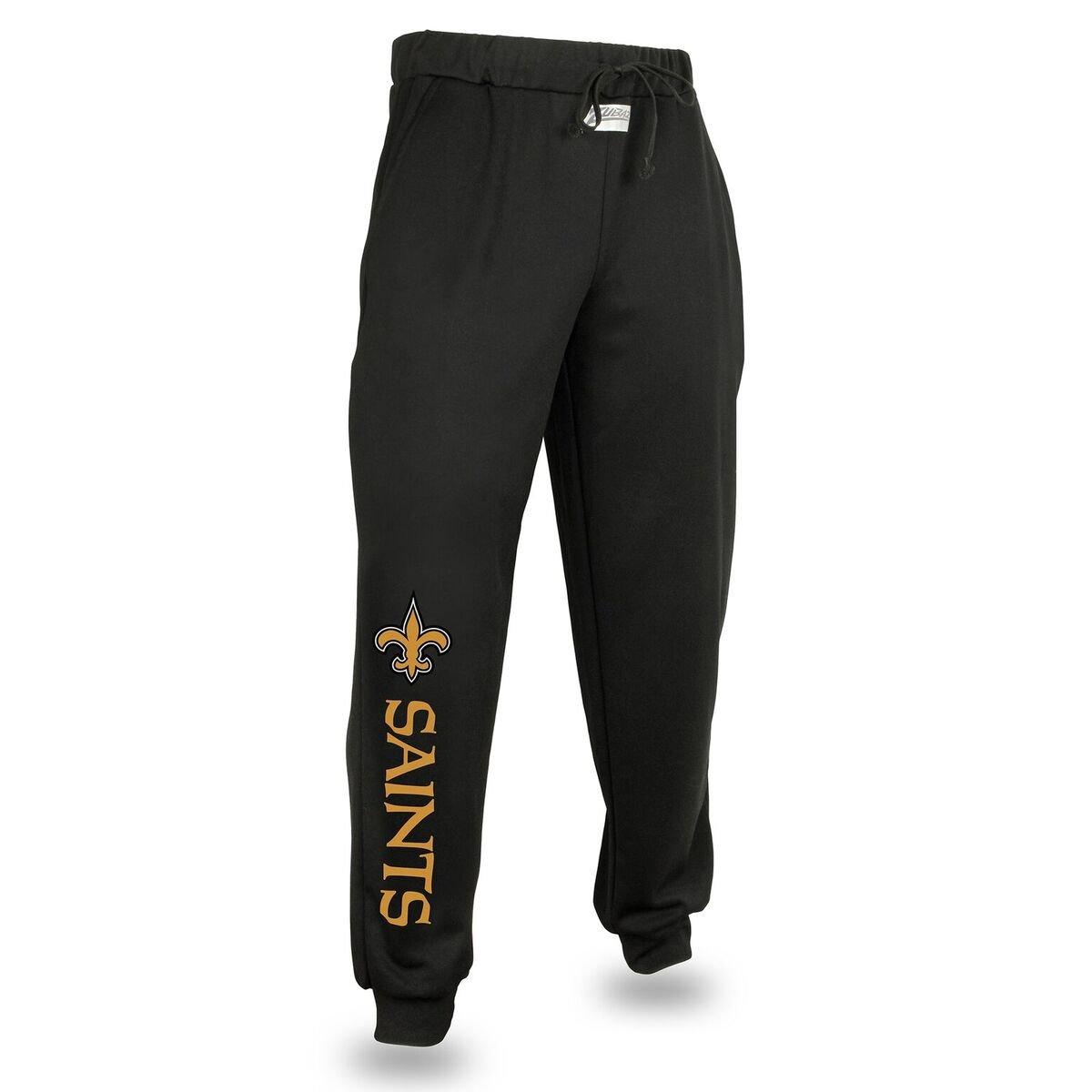 Zubaz NFL Mens Mens NFL Solid Team Logo Jogger Pants