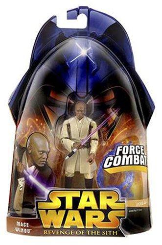 Star Wars Revenge Of The Sith Mace Windu 3 75 Inch Action Figure Ebay