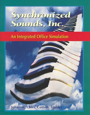 Glencoe Keyboarding with Computer Applications, Synchronized Sounds Inc. Simulation, Student Edition (JOHNSON: GREGG MIC
