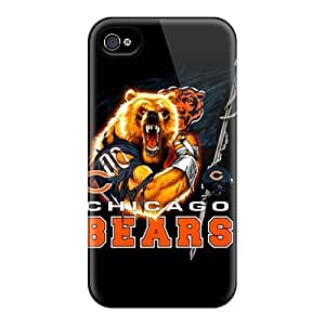 MMZ DIY PHONE CASENew Arrival Case Cover With ZyQJGot3944OiCsc Design For Iphone 4/4s- Chicago Bears