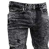 Men's Skinny Jeans Fashion Teen Boys Stretch Slim