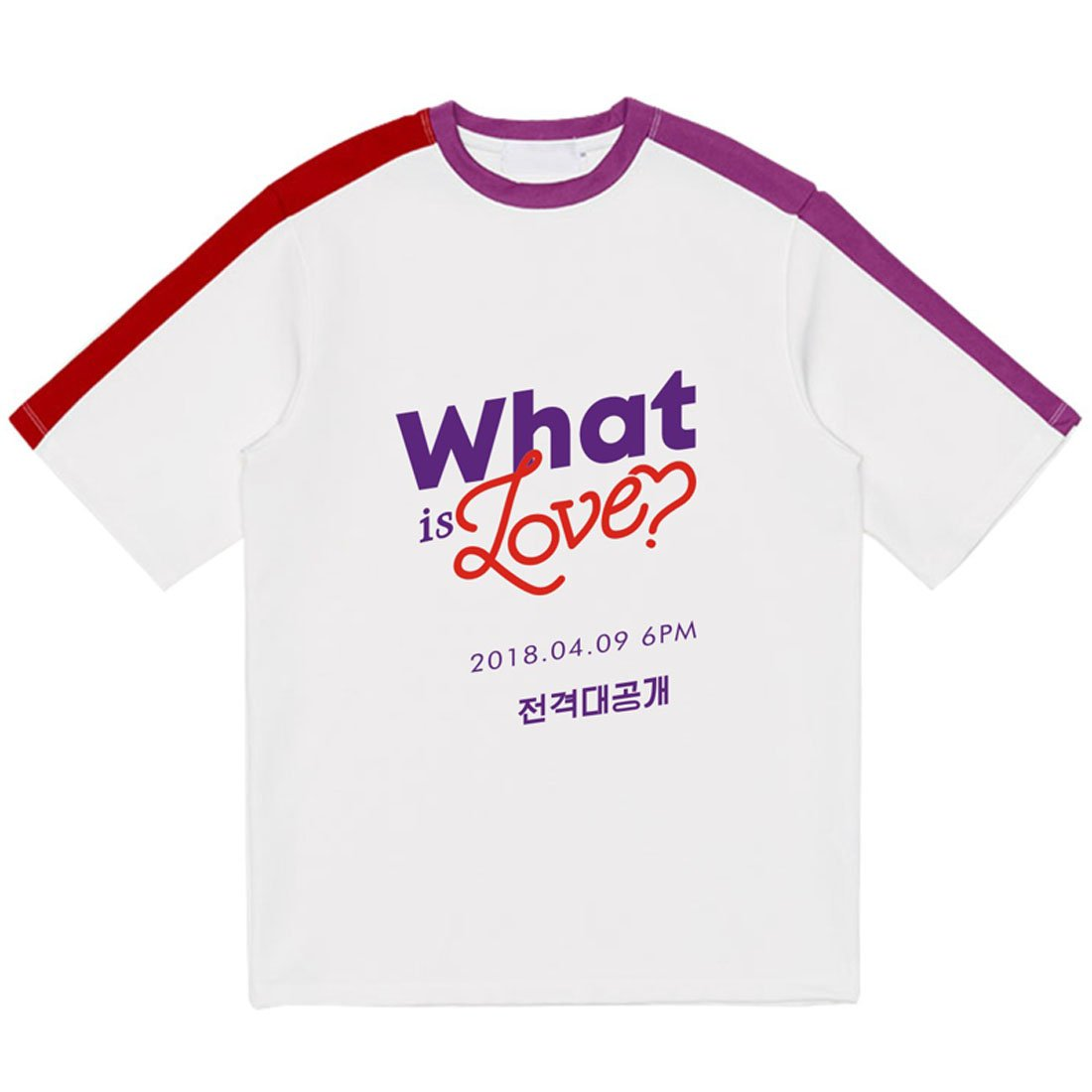 ALLDECOR Kpop Twice What is Love Fanmade Short Sleeve T-Shirt Unise Loose Tee