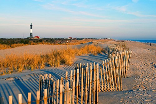 Fire Island Lighthouse Long Island New York Photo Art Print Poster 36x24 inch