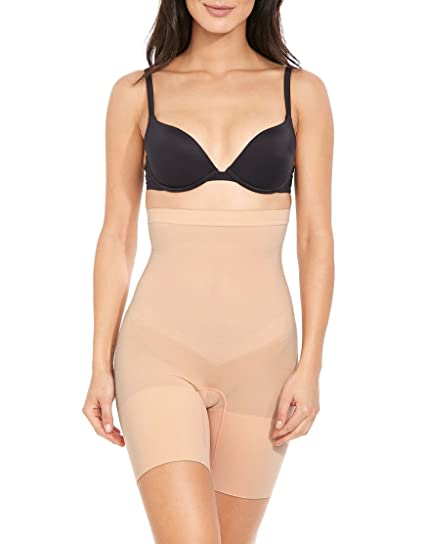 1e5805dbc6e4 Spanx Higher Power Short Nude Large: Amazon.co.uk: Clothing