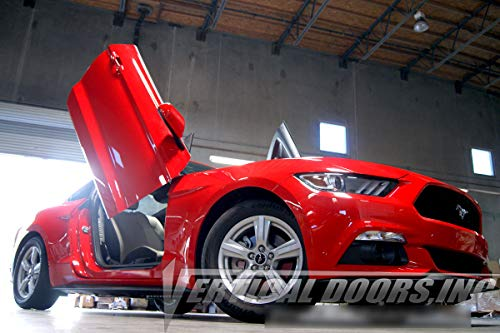 (Vertical Doors - Vertical Lambo Door Conversion Kit for Ford Mustang 2015-2016 (VDCFM15))
