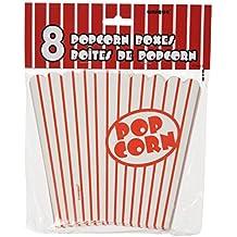 Amazon.com: red striped popcorn boxes