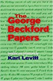The George Beckford Papers, George L. Beckford, 9768125403