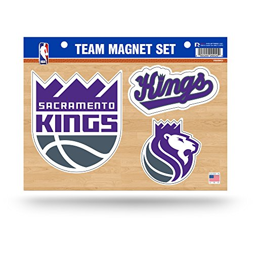 Rico Industries NBA Sacramento Kings Die Cut Team Magnet Set Sheet