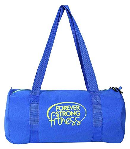 Saludo del trozo de poliéster 19 Ltr viaje Mochila con cuerdas Deportes Gimnasio barril Bolsas Azul