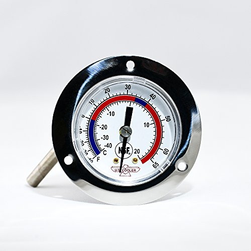 THERMOMETER - Dial - Panel - Panel Thermometer Mount