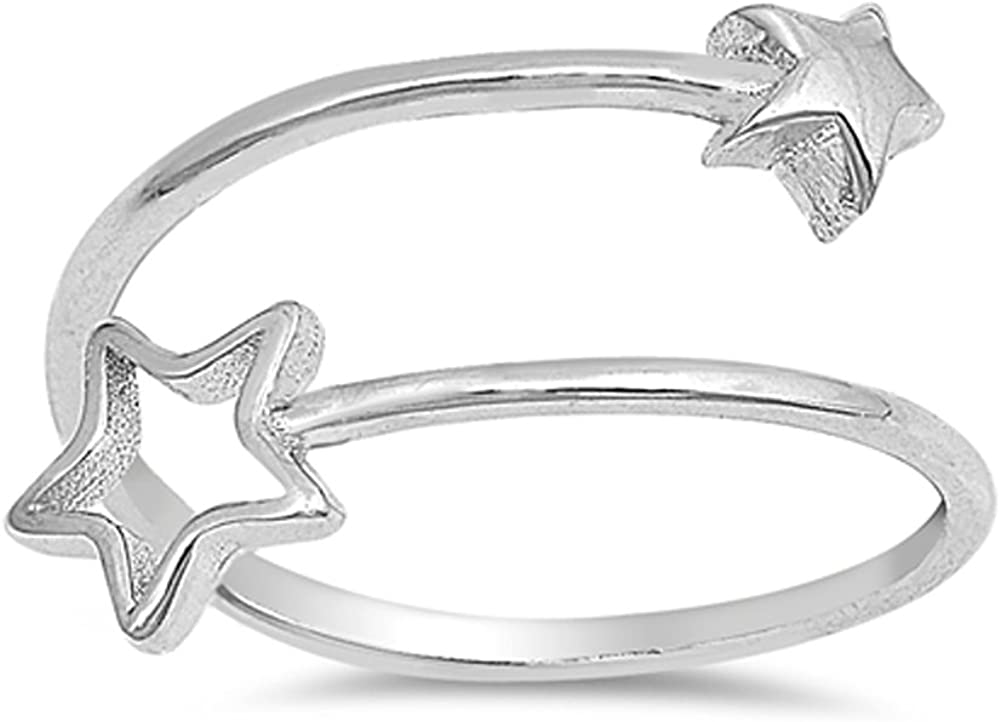 925 Sterling Silver Diamond-cut Cross Open-back Charm Pendant