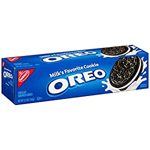 Oreo Chocolate Sandwich Cookies, 5.25 Ounce (Pack of 12)