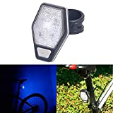 Athli LED Bike Tail Light Safety Cycling Warning Rear Lamp Night Riding Tool Easy to Mount Headlight and Taillight