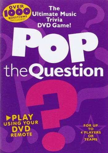 Pop the Question: The Ultimate Music Trivia DVD Game (July - Ultimate Trivia Dvd Game Music