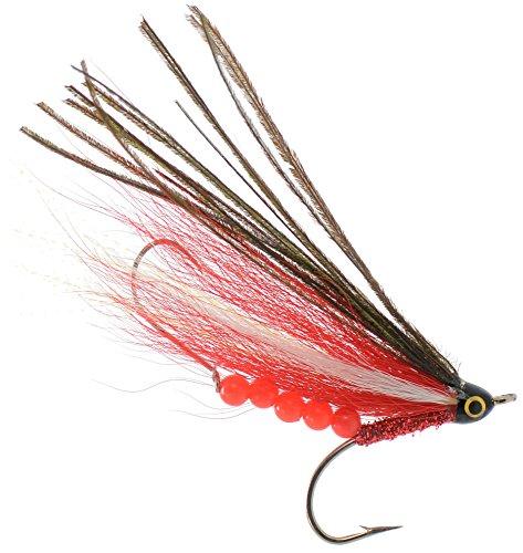 (Canada 150' 4-Inch Pro Grade McFly Fly Fishing Lure | Deceiver Streamer Bucktail Clouser Wet Freshwater Saltwater | Pike Bass Perch Walleye Salmon Trout Dorado Tarpin Bonefish)