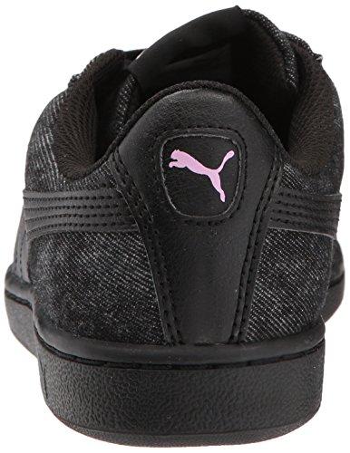 Puma Femmes Vikky B Denim Sneaker Puma Noir-puma Noir