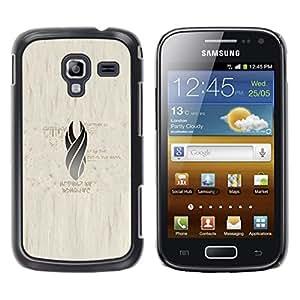 iKiki Tech / Estuche rígido - Gray Llama - Samsung Galaxy Ace 2