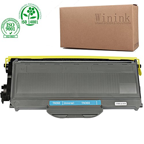 Winink MFC7840w TN360 TN330 Toner Cartridge Black High Yield Compatible Replacement for Brother MFC 7440N MFC 7340 DCP 7040 HL-2140 MFC 7345N MFC-7840W DCP 7030 HL-2170W