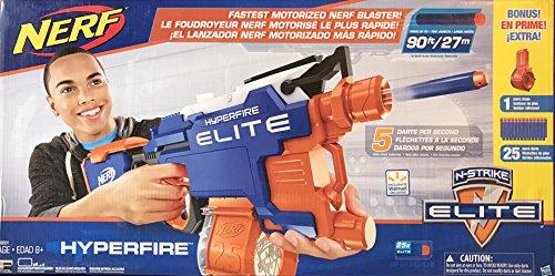 Hasbro Nerf N-Strike Elite Hyperfire Starter Pack: The ultra-rapid firing  Full