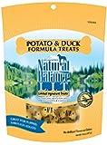 Natural Balance L.I.T. Limited Ingredient Treats Potato & Duck Formula Dry Dog Treats, 14-Ounce