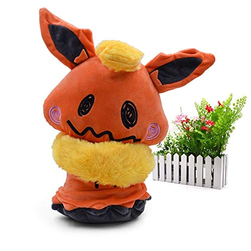 VIETCJ 9 Styles Mimikyu Cosplay Eevee Umbreon Flareon Vaporeon Glaceon Jolteon Espeon Animal Stuffed Plush Quality Cartoon Toy 20 cm -Multicolor Complete Series Merchandise
