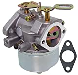 LotFancy 632334A Carburetor for Tecumseh 632334 632111 640334A 632370A Carburetor, HM70 HM80 HMSK80 HMSK90 Engines, 38080 824 Snow Blower Thrower Craftsman Toro Troybilt Carburetor