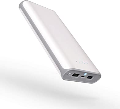 SiKER 20000 mAh Banco de energía portátil Puertos USB duales ...