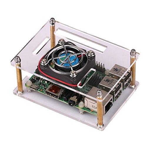 JBtek Transparent Acrylic Raspberry Pi B+ / Raspberry Pi 2 ...