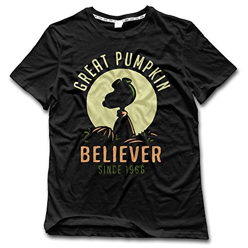 FONY Men's Great Pumpkin Believer Since 1996 Short Sleeve Dress T-Shirts