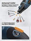 DETLEV PRO Rotary Tool Kit 153 Accessories 170W
