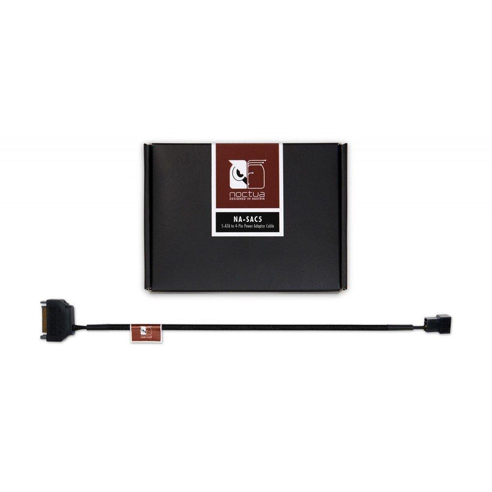 Cable separador en Y 4 pines Negro Noctua NA-SAC5