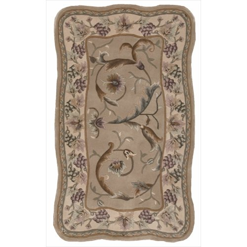 Nourison Versailles Palace (VP01) Beige Runner Area Rug, 2-Feet 3-Inches by 8-Feet  (2'3