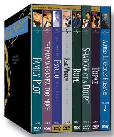 The Alfred Hitchcock Collection: The Best of Hitchcock, Vol. 1 (Psycho / Rear Window / Shadow of a Doubt / The Man Who Knew Too Much (1956) / Rope / Topaz / Family Plot / Alfred Hitchcock Presents Vol. (The Man Who Knew Too Much Dvd)
