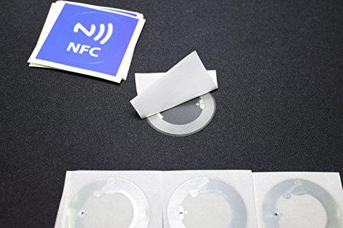 10 NFC Inlay Sticker + 10 Overlay Sticker Mifare 1k Paper Tags