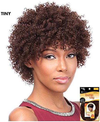 Sensationnel Human Hair Bump Wig - TINY (1B - Off Black)