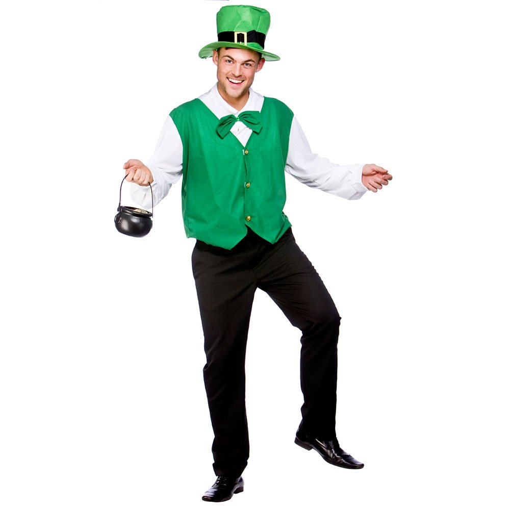 xxl mens lucky leprechaun costume for st patrick u0027s day irish