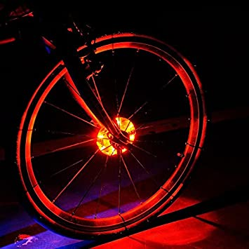 Luces LED Cyborg para rueda de bicicleta, coloridas luces LED ...