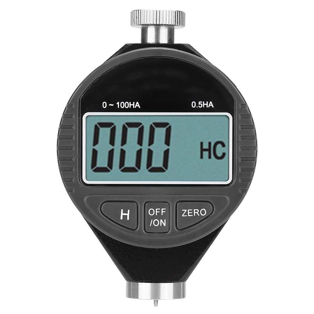 Probador de dureza de caucho con dur/ómetro digital Dur/ómetro 100HD A con medidor de pantalla LCD