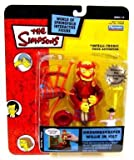 PlayMates The Simpsons Groundskeeper Willie in Kilt Series 14 Action Figure