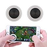Sunjoyco Smartphone Mini Mobile Joysticks, Mobile Joystick Touch Screen Joypad Phone Game Rocker Smartphones Mini Gaming Controller for Android, iOS/iPhones & Tablets/iPad