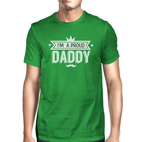 365 un o manga hombre para corta Camiseta verde Printing tama de q6rzw0qg