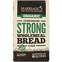 Marriage's Strong Organic Wholemeal Bread Flour 1kg