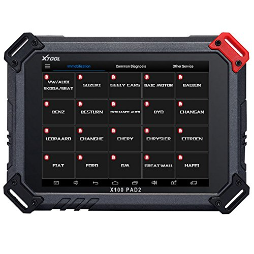 Xtool X100 PAD2 Programmer Automotive Full System Diagnostic Tool with  Special Function EPB/TPS/Oil/Throttle Body/DPF Reset X100 PAD 2