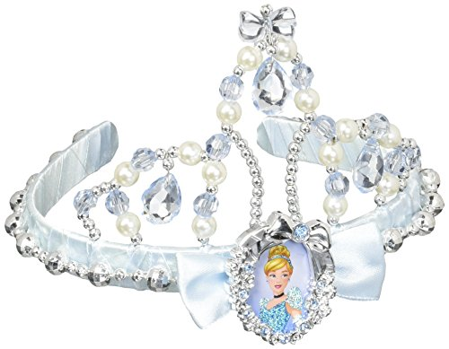 Disguise Classic Disney Princess Cinderella Tiara, One Size Child, One Color (Disney Princess Girls Cinderella Classic Costume)