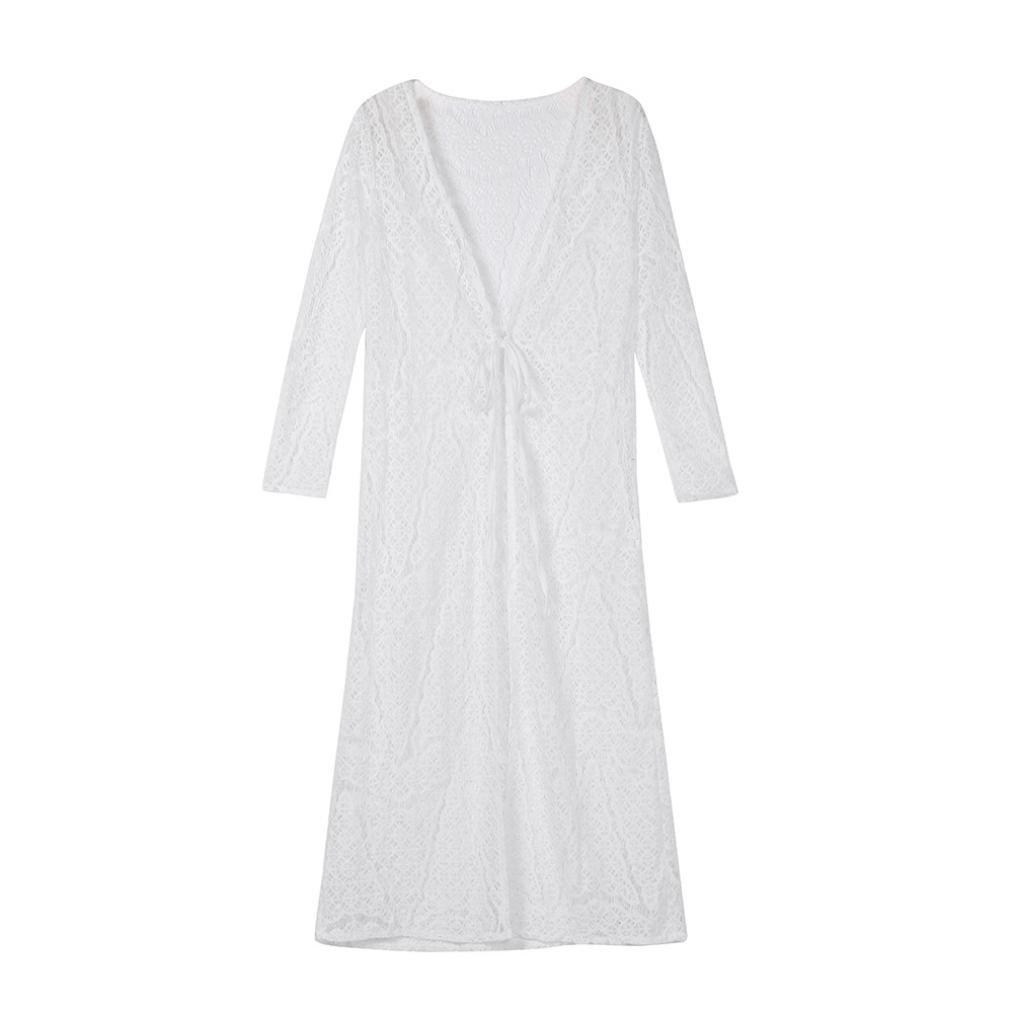 Venmo Frau Boho Beach Bikini Mantel Mantel Maxi Cover Up Spitzen