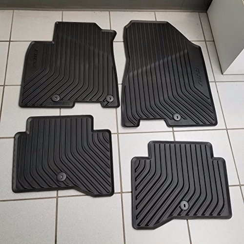 NEW OEM 2017-2018 KIA NIRO ALL WEATHER RUBBER FLOOR MATS - 4