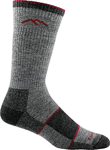Darn Tough Men's Merino Wool Hiker Boot Sock Full Cushion Socks - Mens Charcoal Large