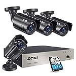 ZOSI 1080P Security Camera System